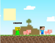 Creep craft 2 minecraft játékok